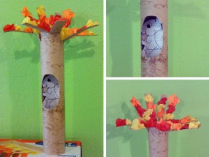 paper towel roll art