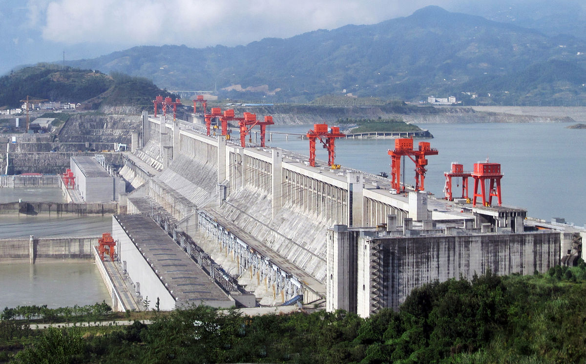 """ThreeGorgesDam-China2009"" by Source file: Le Grand PortageDerivative work: Rehman - File:Three_Gorges_Dam,_Yangtze_River,_China.jpg. Licensed under CC BY 2.0 via Wikimedia Commons."
