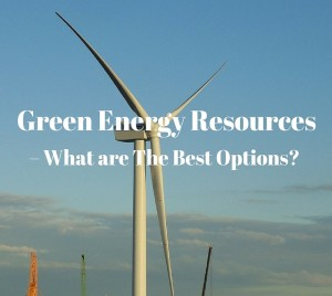 Green Energy Resources, alternative source of energy, clean energy
