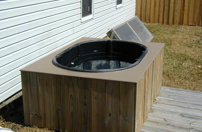 solar hot tub